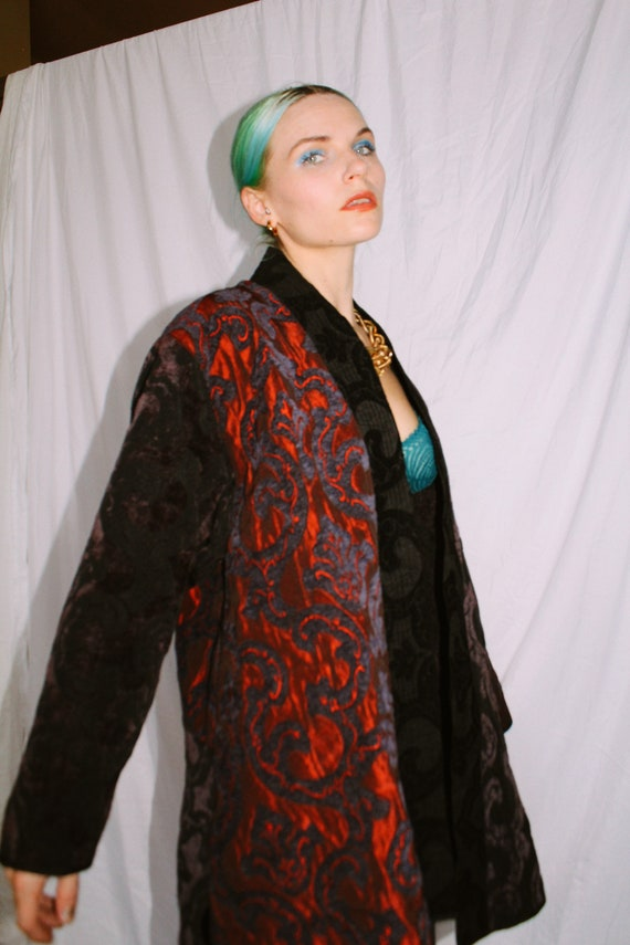 Vintage Tapestry Swing Jacket