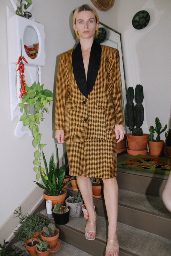 Houndstooth Suit Set - image 2