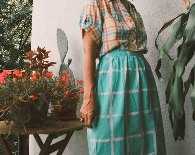 VTG Handmade Cotton Skirt