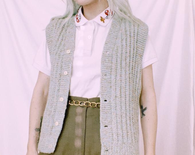 Vintage Handknit Sweater Vest