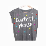Shirt Confetti blogger Hipster vintage points