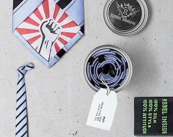 "Business Tie ""Kusunoki"" ice"