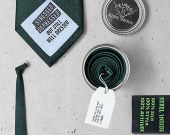 "Business Tie ""Freud"" green"