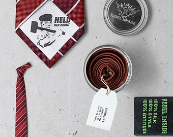 """Business Tie """"Stakhanov"""" red"""