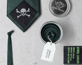 "Business Tie ""Störtebeker"" green"