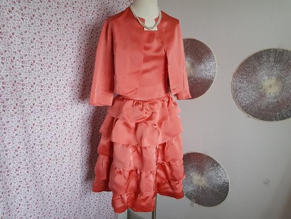 Volants dress with bolero