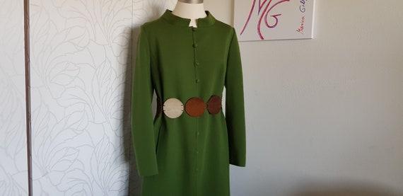 Long coat wool 70s