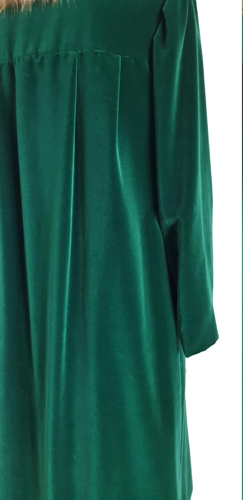 Velvet dress or coat