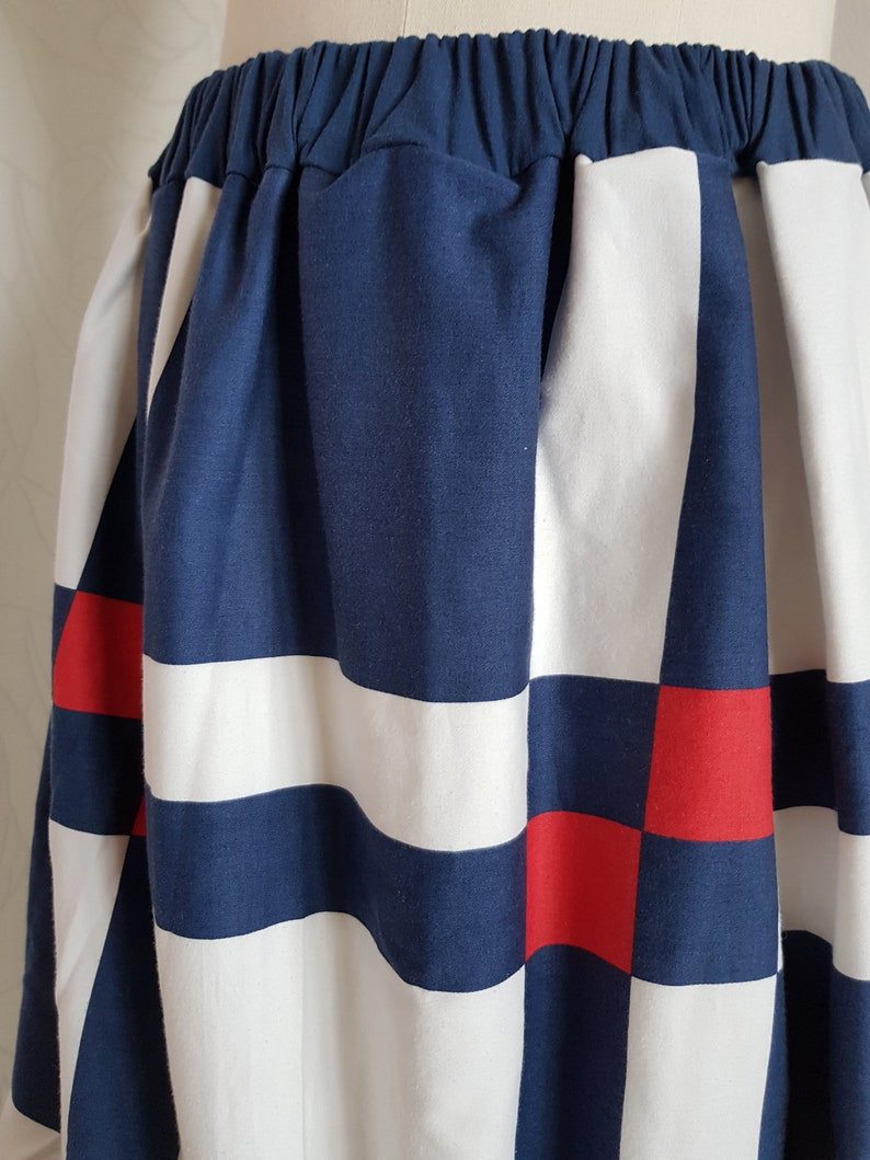 Skirt style 60s-upcycling