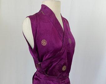 Brocade vintage formal dress