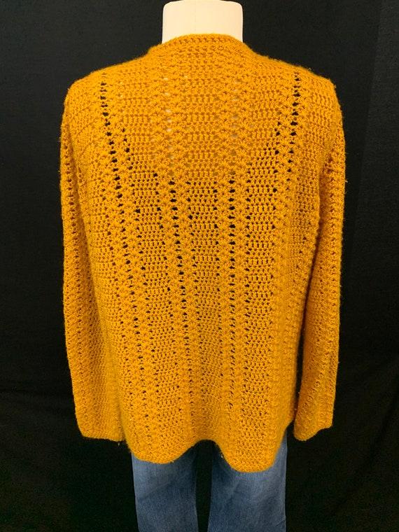 Marigold crochet open front cardigan - image 4