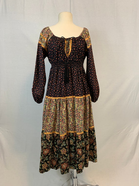 Calico peasant dress by Young Edwardian