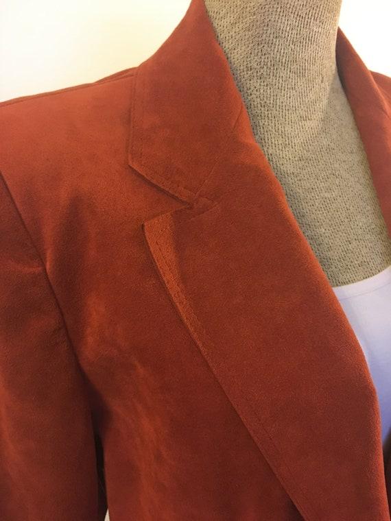 Perfect Lilli Ann Ultrasuade blazer - image 2
