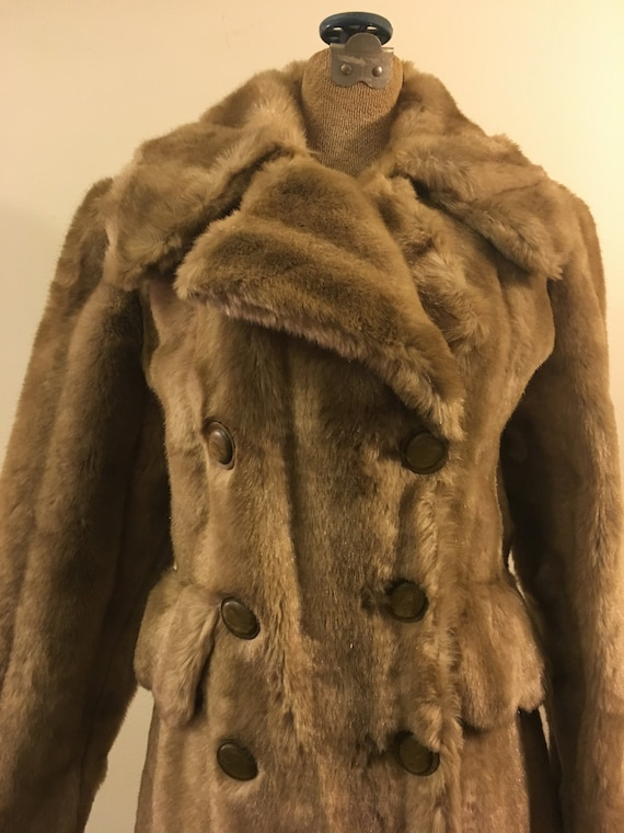 Champaign  teddy bear coat faux fur vegan