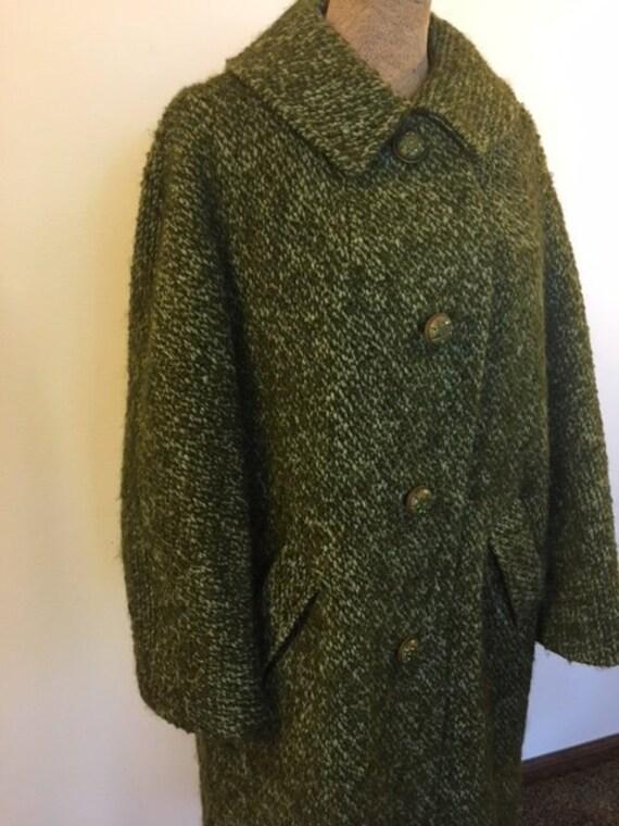 Green Mohair Coat