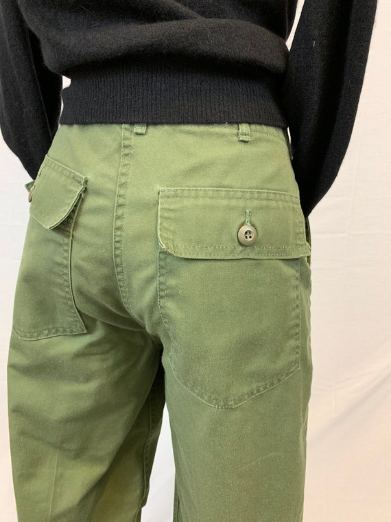 Vintage Army high waist utility pants