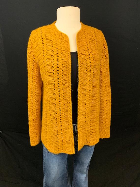 Marigold crochet open front cardigan - image 6