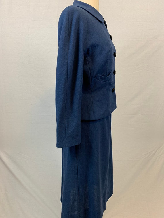 Blue Victory 1940's skirt suit - image 4