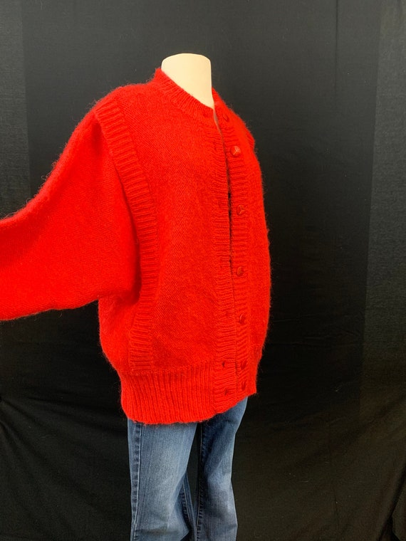 Oversized 80's mohair look sweater