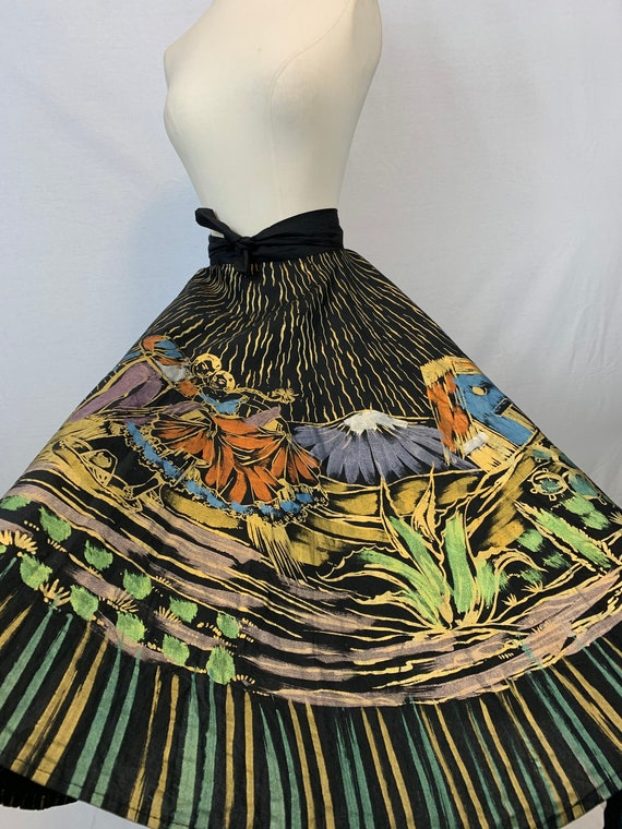Mexican Gilded Circle Skirt