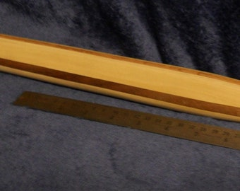 Blonde Wood French Rolling Pin  Straight Rolling Pin  Made in France  Baking  Cooking  Vintage  Housewarming Gift  Solid Wood