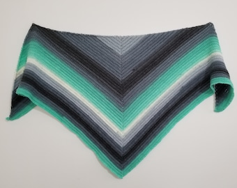 The Canal Shawl Pattern