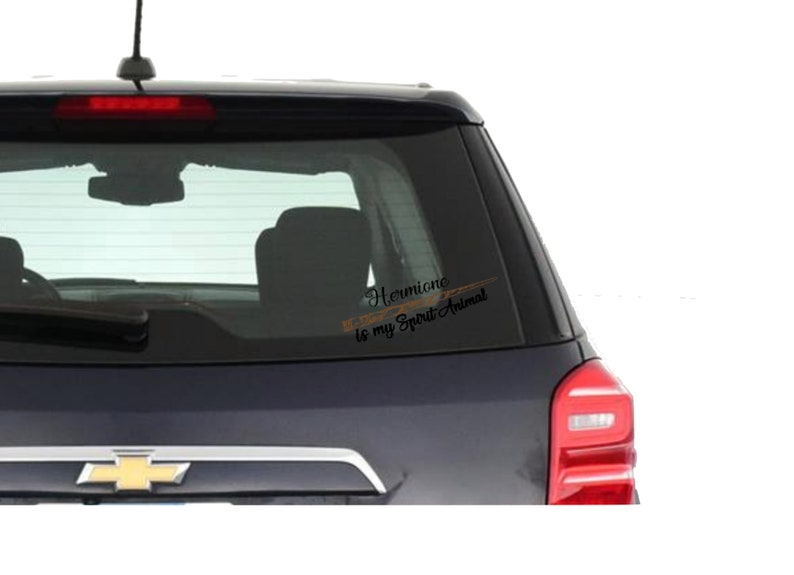 Potter Wizard Car Decal Harry Laptop Hermione Wand Outdoor