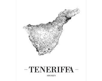 Spanien Karte Schwarz Weiß.Spanische Dekoration Etsy