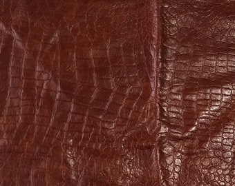 Leather Scraps Autumn Turquoise Brown 223 As Picture Etsy