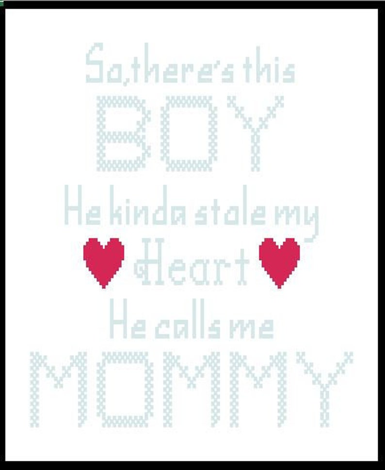 So, there's this Boy He Kinda stole my Heart He calls me Mommy