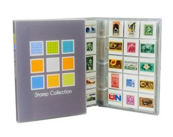 Postage stamp album | Etsy