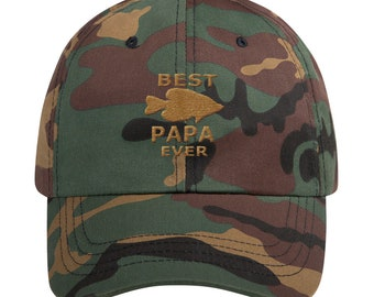 0487bb679d5 Best Papa Ever Father's Day Gift Idea Ball Cap Dad hat