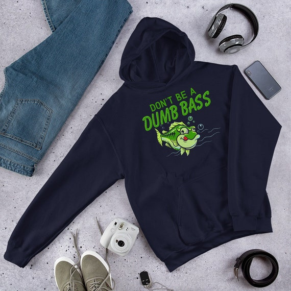Don/'t Be A Dumb Bass Piped Fleece Jacket