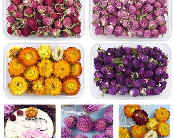 1 Box Dried Flowers, Chrysanthemum, Resin Filling, DIY Crystal Epoxy Resin Crafts, Incense Decoration, Jewelry Making Accessories