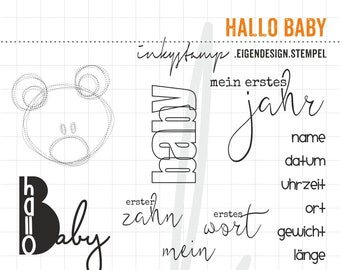 Hello Baby - Stamp Set