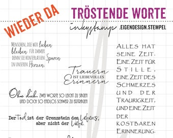 Comforting Words - Stamp Set