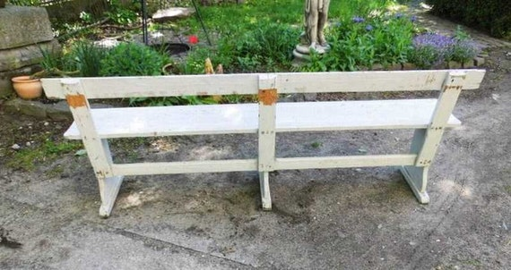 Strange Old Station Bench Wooden Bench Bench Bench Garden Bench Around 1920 Stable And Well Preserved Cjindustries Chair Design For Home Cjindustriesco