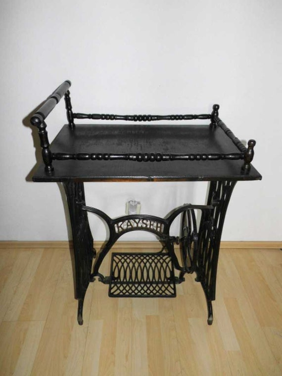 Superb Side Table Under Frame Sewing Machine Cast Iron Home Interior And Landscaping Spoatsignezvosmurscom