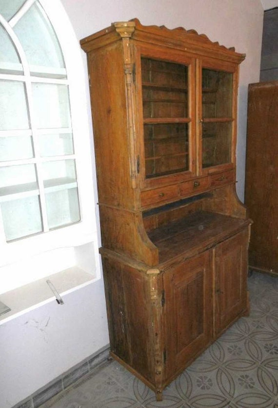 alter Küchenschrank Küchenbuffet Landhausstil | Etsy