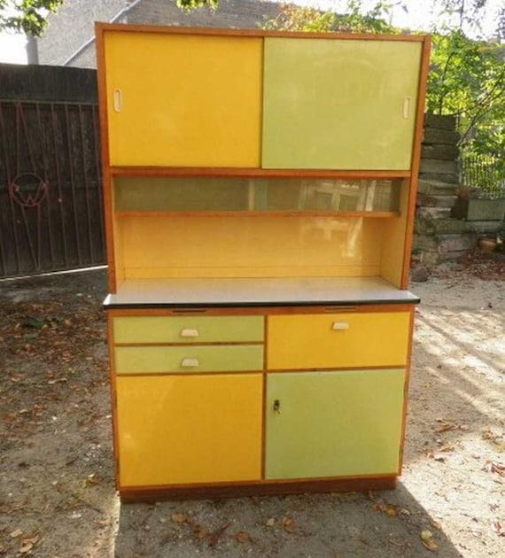 Küche / Küchenschrank Küchenbuffet 50er Jahre | Etsy