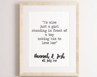 Notting Hill Quote Etsy