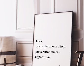Items Op Etsy Die Op Luck Is When Preparation Meets