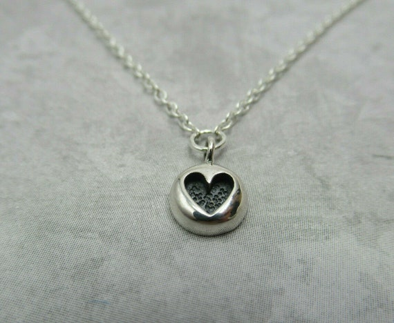 925 Sterling Silver LOVE w// Heart Charm Necklace Gift Anniversary Valentine