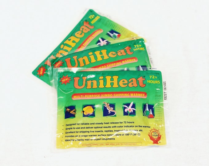 72 Hour UniHeat Shipping Heat Pack