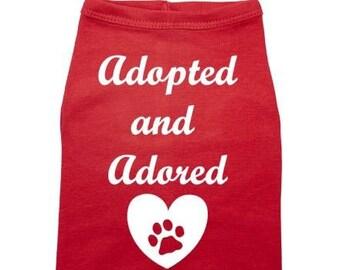 Adopted dog | Etsy