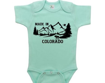 Baby Onesies Boulder Mountain Colorado Flag C 100/% Cotton Baby Jumpsuit Stylish Short Sleeve Bodysuit