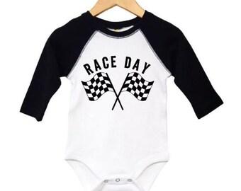 7b5bbb51ad Racing onesie