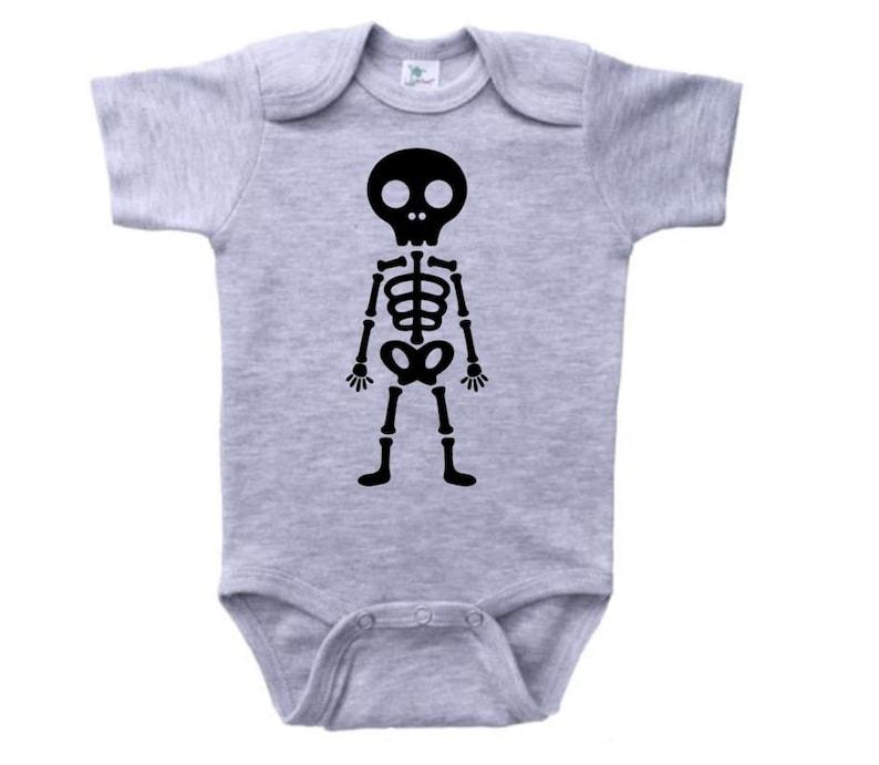 3c2d279b2 Halloween Onesie Skeleton Skeleton Onesie Halloween Outfit | Etsy