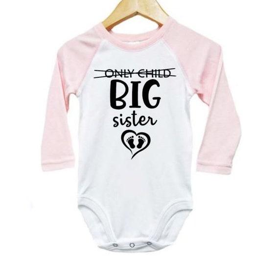 Christmas List Onesies\u00ae Christmas Baby Announcement Big Sister Onesies\u00ae Sibling Onesies\u00ae Big Brother Onesies\u00ae Baby Announcement