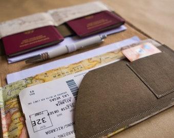 reiseetui passmappe reisepasshulle passhulle weltkarte reise organizer weltenbummler weltreise geschenk freundin geschenk tochter